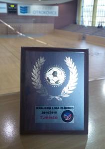 Zlín B - 7.místo 2014-2015